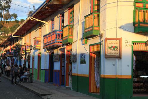Besuch von Salento in der Kaffeezone von Kolumbien