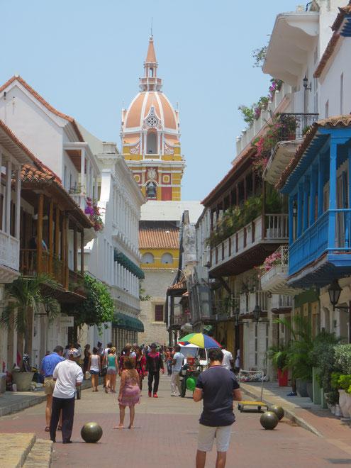 Stadtbesichtigungen von Cartagena mit KOLUMBIENline