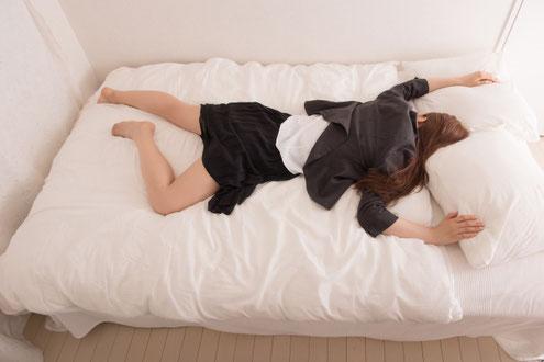 寝る環境を整えましょう