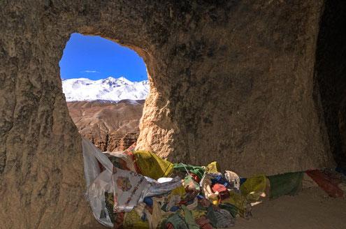Aussicht aus einem der Höhlen-Fenster