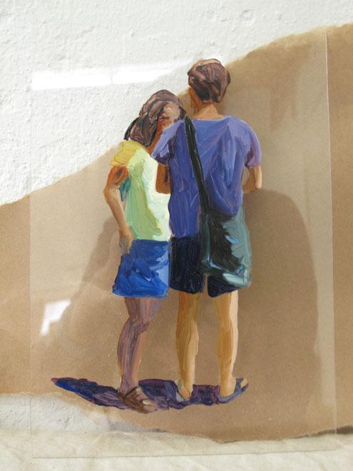 Heike Ludewig, Paar, painting, gemälde