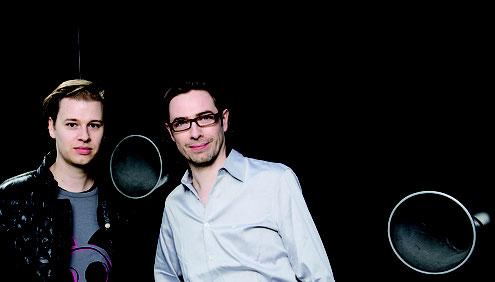 Stephan Bosenius und Marc Gruppe (Foto: So-Min Kang)