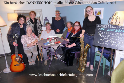 Fotograf: Bernd Dochnahl Von links nach rechts: Helga Andrae, Gisela Kassel, Margret Drees (stehend), Susanne Horn, Jutta Zibilla, Waltraud Schira, Anette Dodt, Nina Seipel