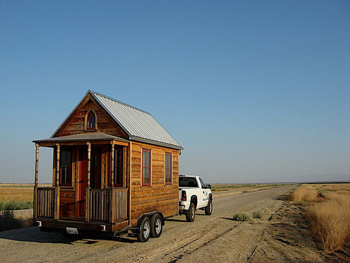 Jay Shafer's Tiny House  /                Foto ⓒ Tumbleweed Tiny House Co.