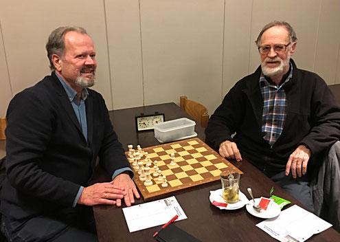 Siegerpaarung SH Cup 2016; Drago Mikavica, Robert Schetty (vlnr)