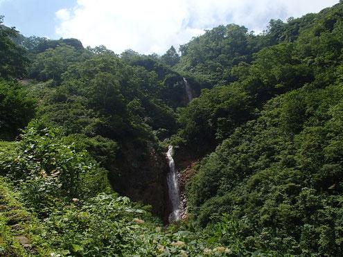 称名滝と光明滝
