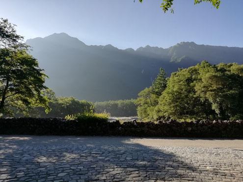 霞沢岳~六百山の稜線
