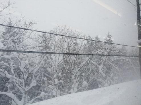 奥羽本線の車窓から