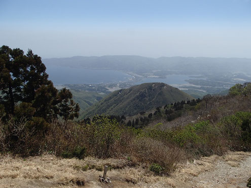 加茂湖と両津湾