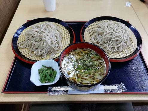 桧枝岐村の蕎麦