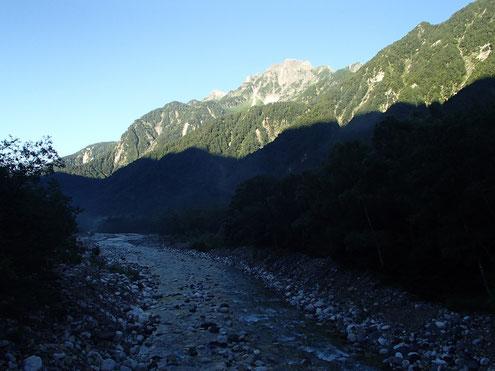 横尾から前穂高岳
