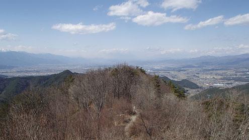 霧訪山から北側