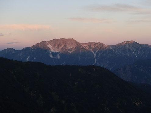 立山モルゲンロート