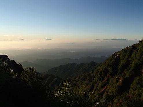 浅間・八ヶ岳・富士