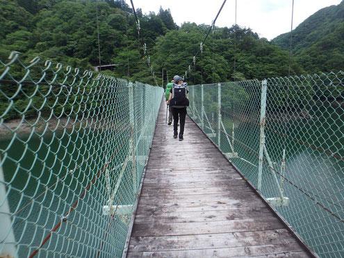 大洞川吊り橋