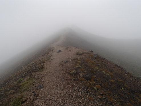 東山への登り