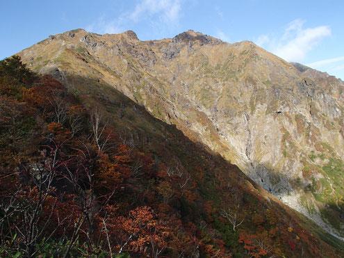 谷川岳山頂方面
