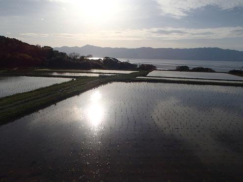 姫埼から見る大佐渡山脈