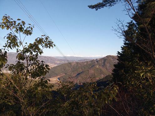 鳴雷山から八ヶ岳