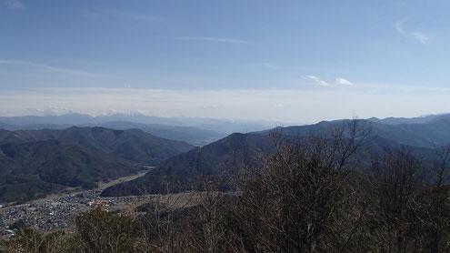 霧訪山から南側