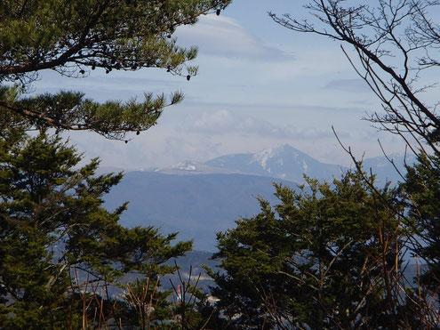 車山と蓼科山