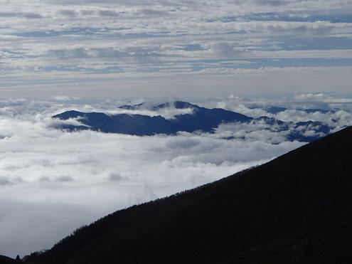 雲海と奥秩父