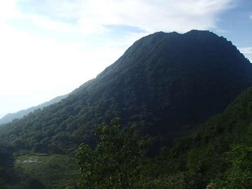 妙高山中央火口丘
