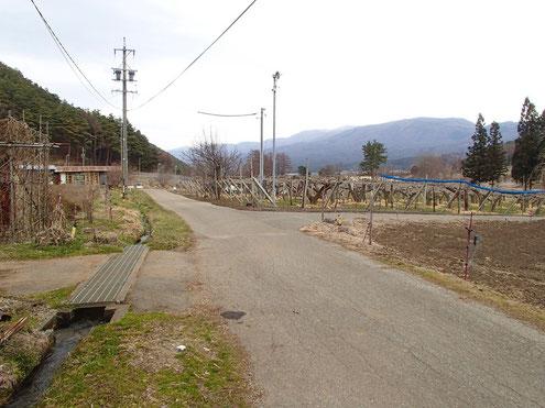 山村の景色