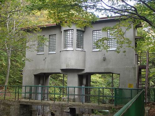 子ノ口の水門