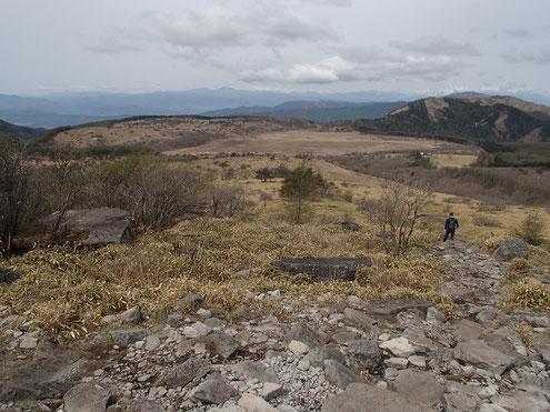 物見石から八島湿原