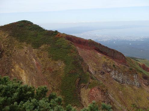 赤倉岳崩壊斜面