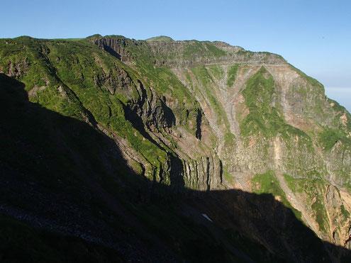 立山カルデラ外輪山