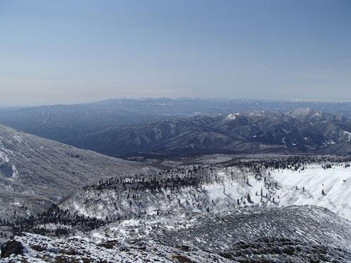 那須岳~上越・尾瀬の山々