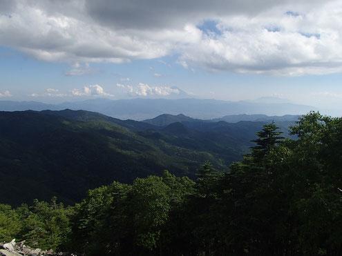 大ナギから富士山