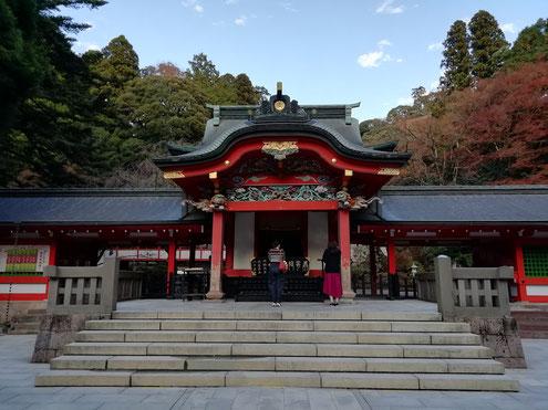 霧島神宮勅使殿