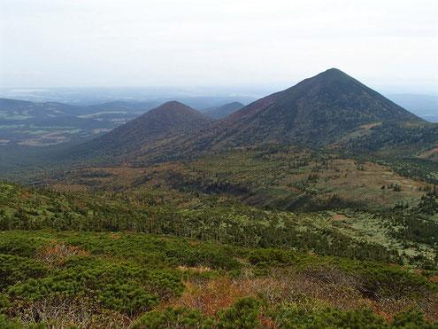 高田大岳と雛岳