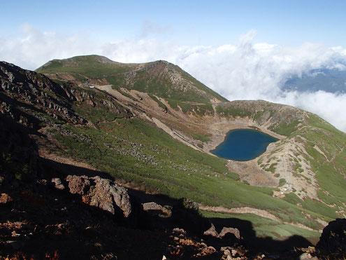 三ノ池と継子岳