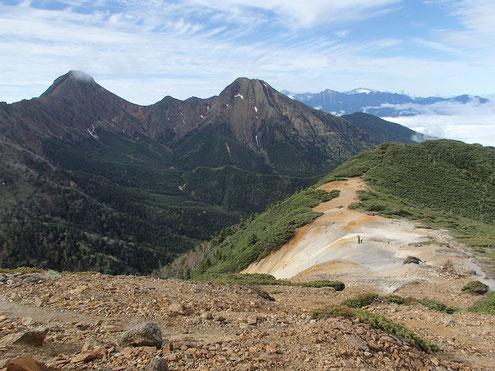 八ヶ岳核心部と南アルプス北部
