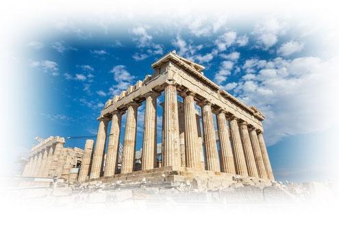 パルテノンマンションのモチーフとなったパルテノン神殿