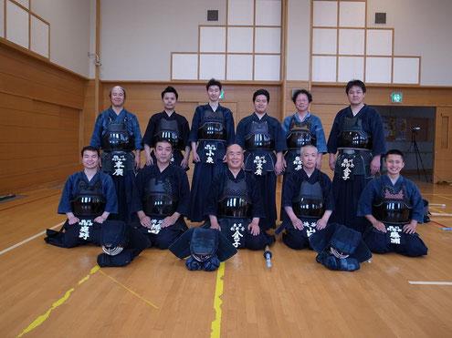 鶴川中学校 2F格技室