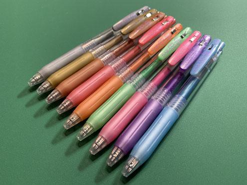 点描曼荼羅のペン