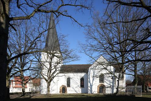 Die Laurentiuskirche in Bünde (Westfalen)