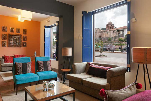 Cusco Hotels im Zentrum bucht Ihnen PERUline