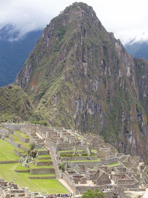 Machu Picchu ist DIE Sehenswürdigkeit von Peru.