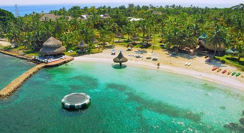 Cartagena - Tayrona - Islas del Rosario - San Adres - Providencia - Islas San Bernardo - Strand Ferien - Karibik - Insel