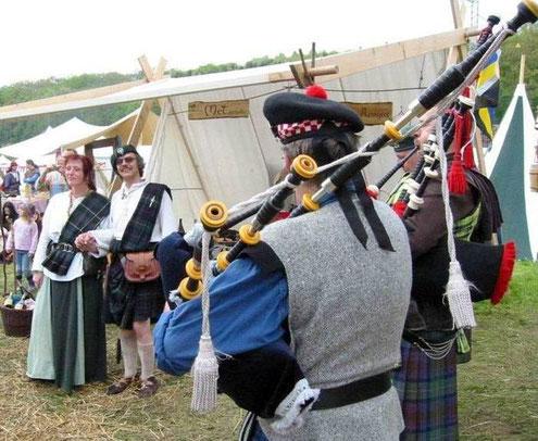 Piper-Ständchen für Clan MacLeod
