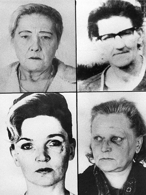 Foto der Frauen, die Fritz Honka in Hamburg getötet hat