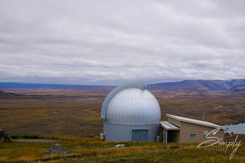 Simply Picture-New Zealand-Südinsel-Tekapo-Mt John University Observatory