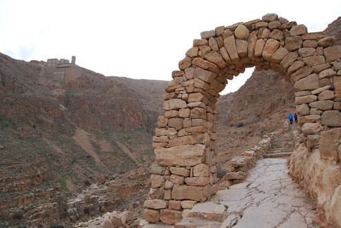 Monastère de Deir mar musa, voyage à vélo en Syrie, bike touring