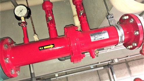 泡消火設備の薬剤混合器